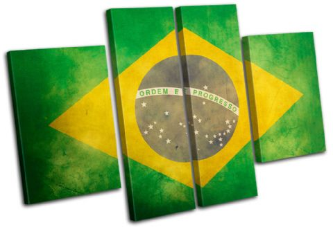 Abstract Brazilian Maps Flags - 13-1128(00B)-MP17-LO